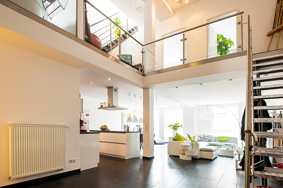 Loft-Wohnung mit 143 m² Wohnfläche im Binnerpark Neheim verkauft